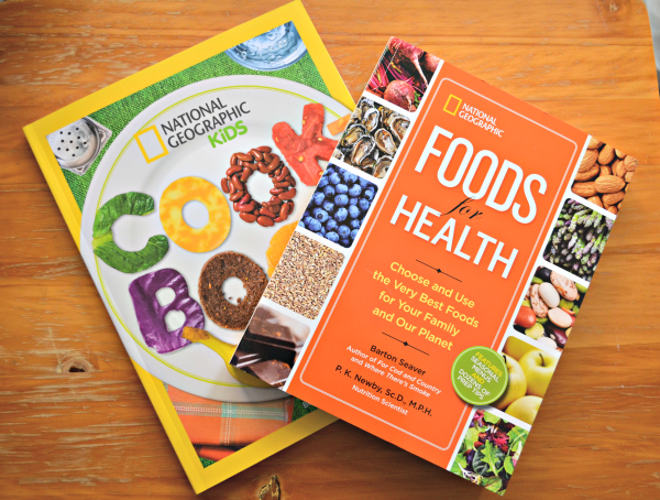 National Geographic Food Books Review and Giveaway