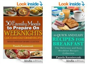 2 FREE Recipe eBooks for Quick & Easy Dinners and Breakfasts