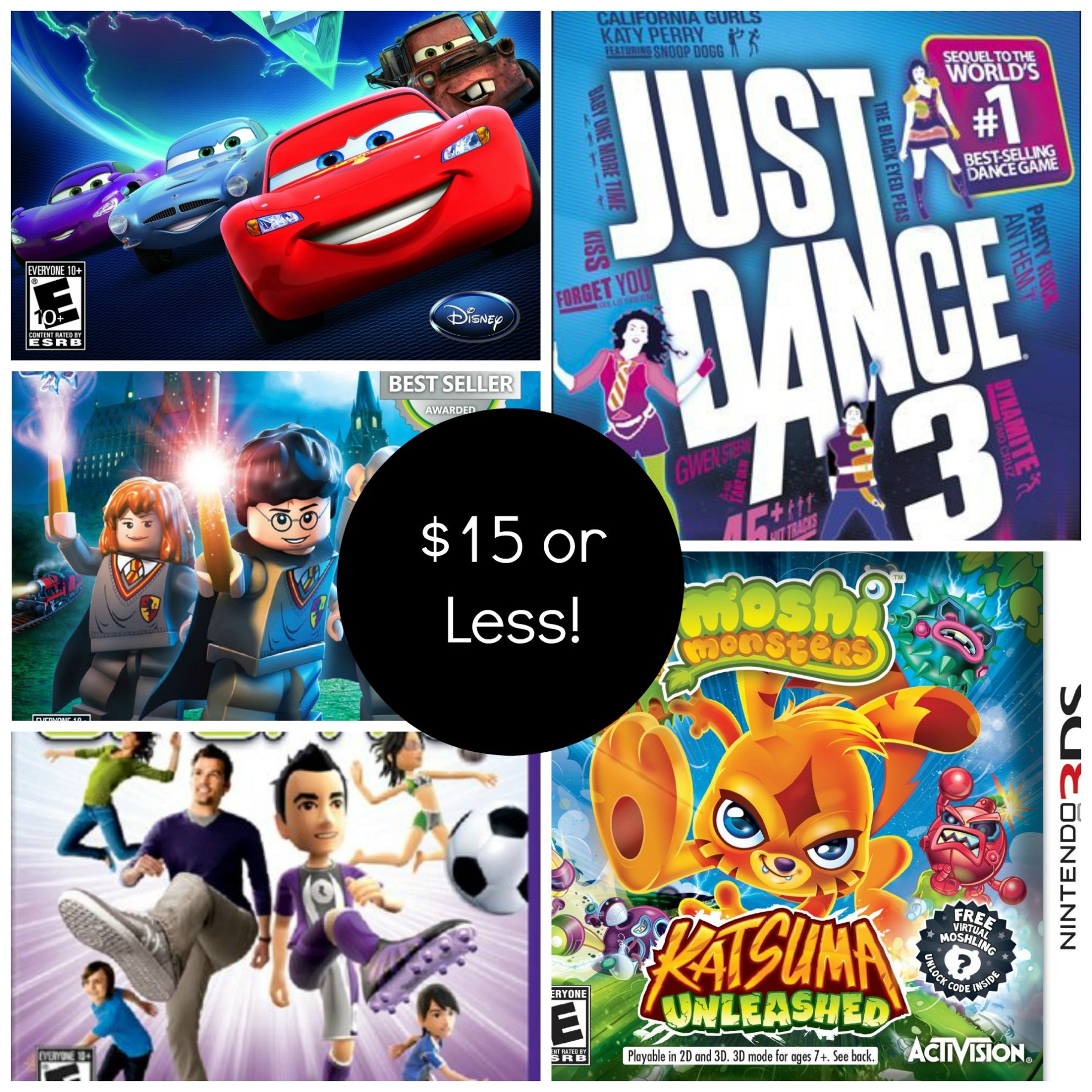 Video Games for Kids for $15 or Less! - Thrifty Jinxy