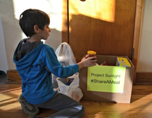 Fighting Child Hunger with Project Sunlight #ShareAMeal
