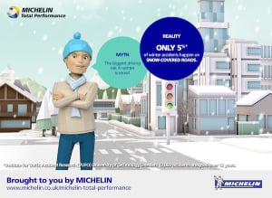 Winter Weather Driving Tips from Michelin