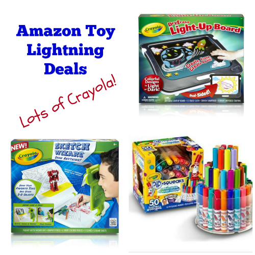Amazon Toy Lightning Deals TODAY!
