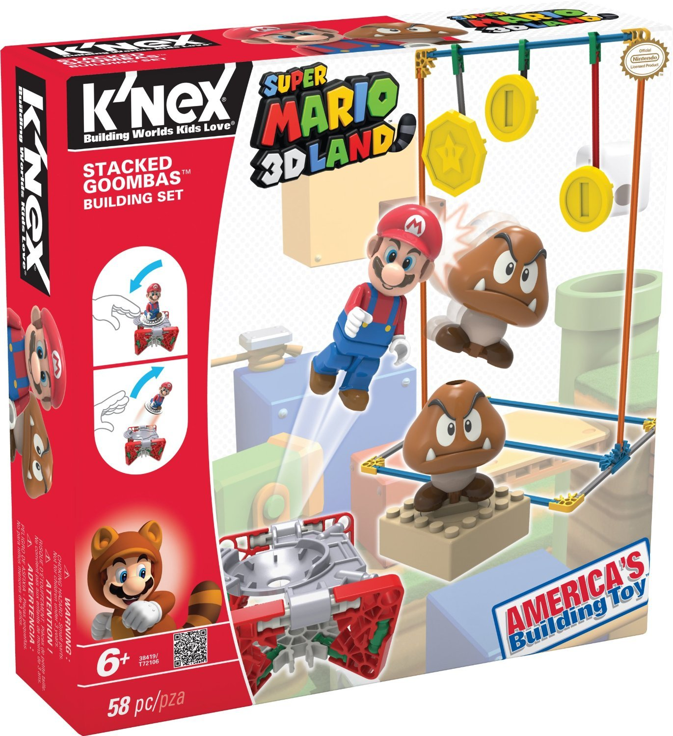 Super Mario 3D Land K'Nex Set only $9.99!
