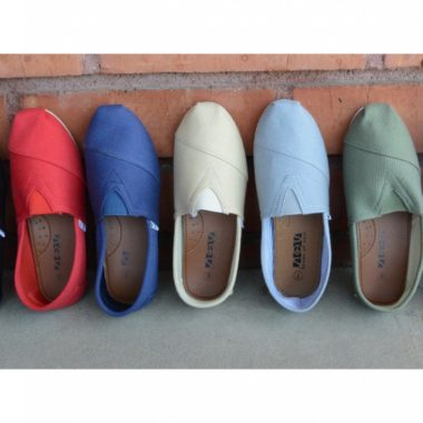 dfa353ef351 Tom Inspired Women s Canvas Flats only  11.98 Shipped! (reg  55)