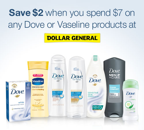 Feel Beautiful with Dollar General and Dove!