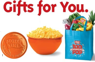 FREE Jolly Time Popcorn Bowl or Bag with UPCs