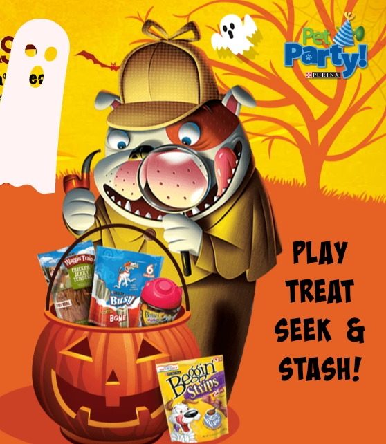 Play the Purina #SeekandStash Game for a Chance to win FREE Pet Treats