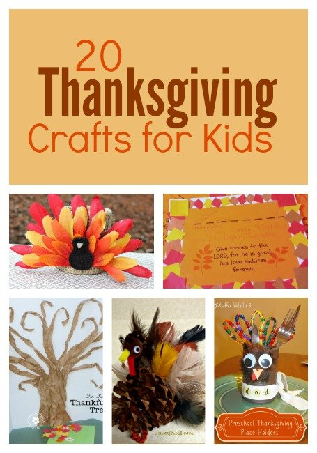 20 Thanksgiving Crafts for Kids