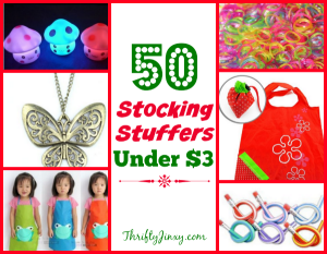 50 Stocking Stuffers Under $3 – Gifts for Kids, Women and Men