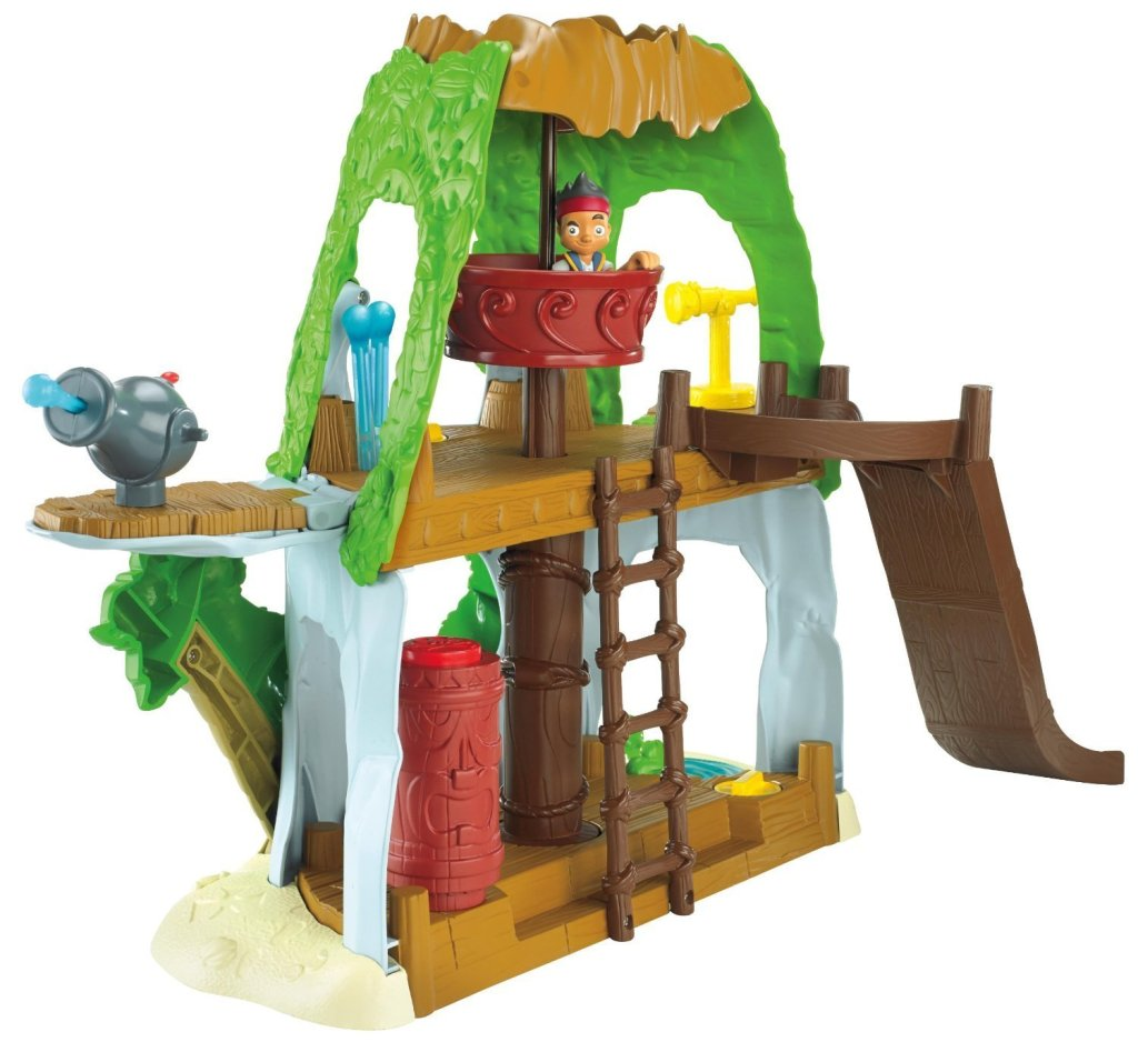 Jake and The Never Land Pirates Tiki Hideout Playset