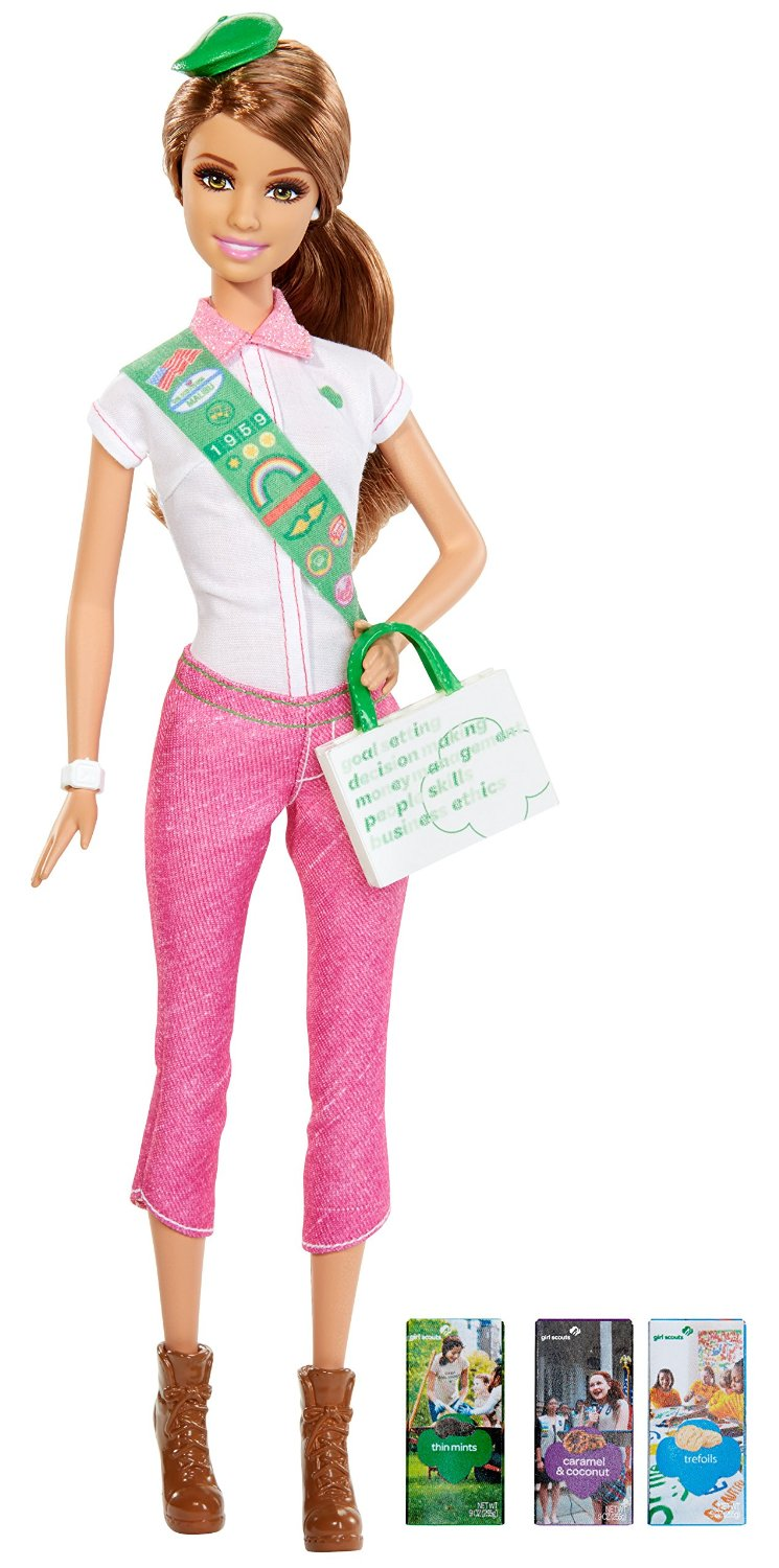 barbie loves girl scouts doll only 9 09 lowest price