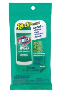 Two FREE Packs of Clorox To-Go Wipes at Target