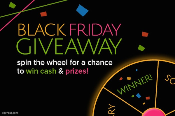 Enter the Coupons.com Black Friday Giveaway