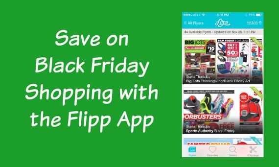 Black Friday Shopping Flipp app
