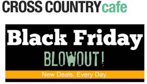 GREAT Prices on Coffee and Coffee Gifts from Cross Country Cafe's Black Friday Sale!