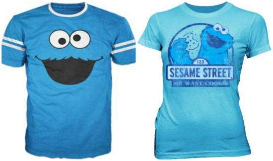 Cookie Monster Shirts
