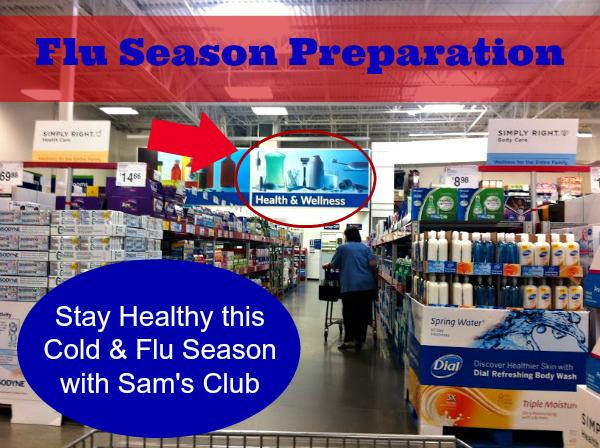 Flu Season Preparation #SimplyHealthy #Shop