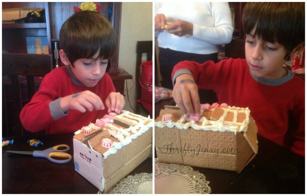 Honey Maid Graham Cracker House Construction