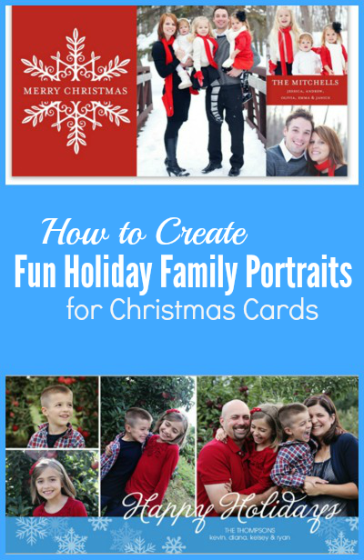 How to Create Fun Holiday Family Portraits for Christmas Cards