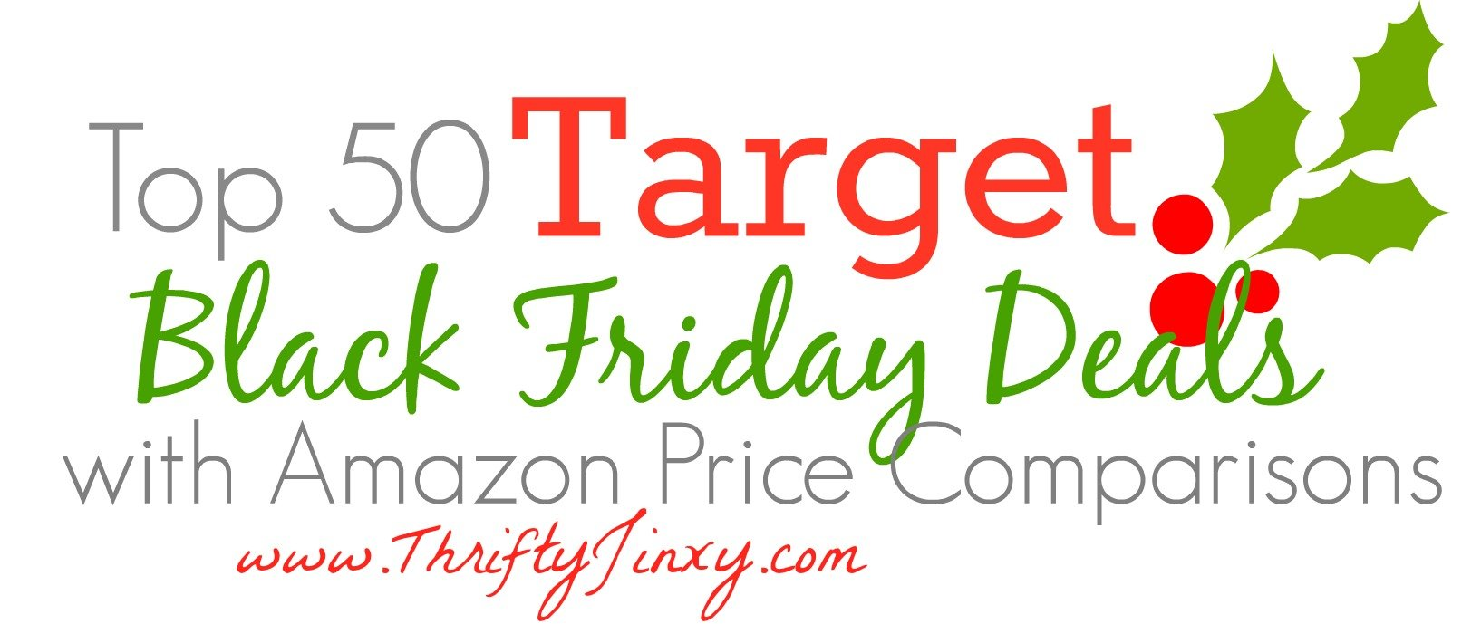 Top 50 Target Black Friday Deals with Amazon Price Comparisons!
