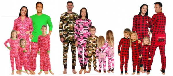 Fun Christmas Pajamas For Family Breeze Clothing