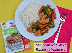 McCormick Skillet Sauces at Walmart – A Home Cooked Meal in No Time