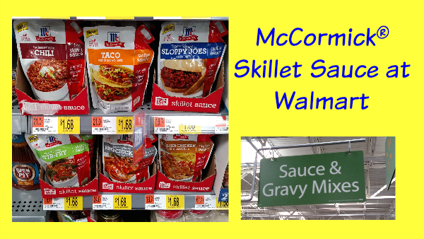 McCormick® Skillet Sauce at Walmart