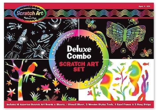 Melissa Doug Scratch Art