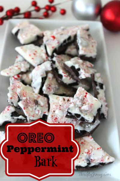 Oreo Peppermint Bark Recipe