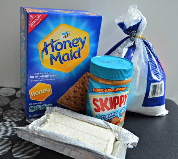 Peanut Butter Cream Cheese Dip Ingredients