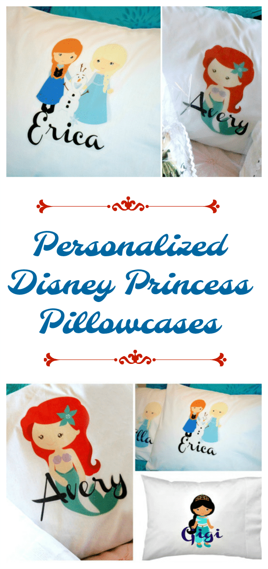 personalized disney princess pillowcases thrifty jinxy