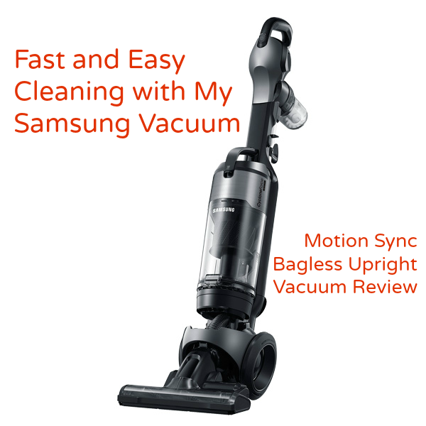 Samsung Motion Sync Bagless Upright Vacuum