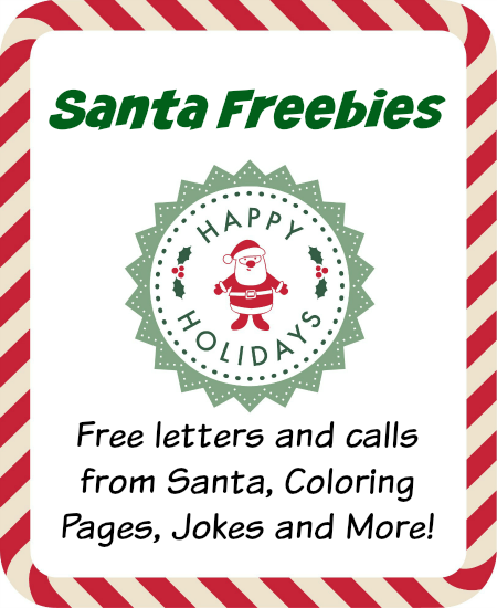 Santa Freebies List
