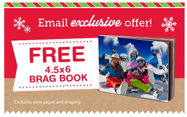 FREE 4.5×6 Brag Book Photo Book from Walgreens
