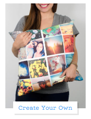 Zazzle Personalized Pillows with Instagram Photos