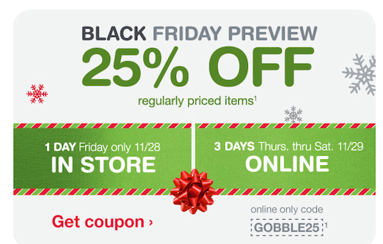 Walgreens Black Friday 2014 – 25% Off ALL Regularly Priced Items + In-Store Freebies