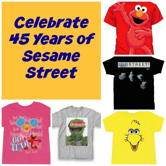 Sesame Street 45 Years Old