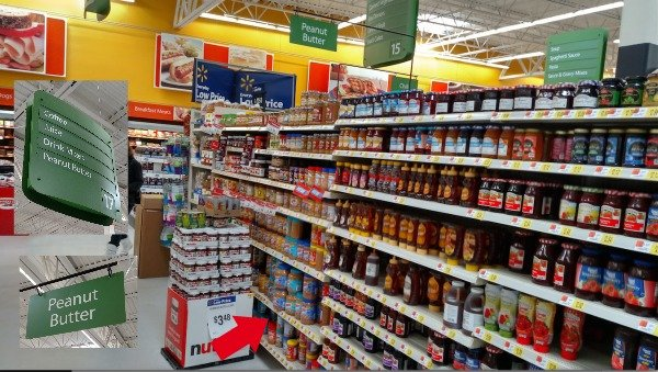 Skippy Peanut Butter at Walmar
