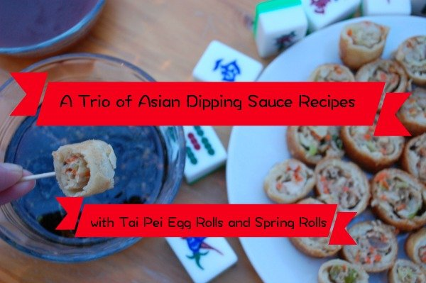 A Trio of Asian Dipping Sauce Recipes For Your Next Party