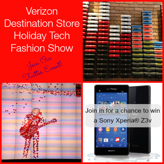 Verizon Holiday Tech Fashion Show Preview Twitter Event #VZWBuzz
