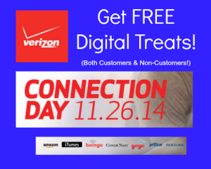 Verizon Wireless CONNECTION DAY Freebies! – For Non-Verizon Customers Too!