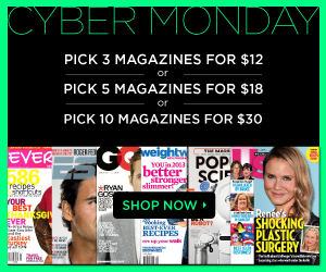 DiscountMags.com Cyber Monday Sale