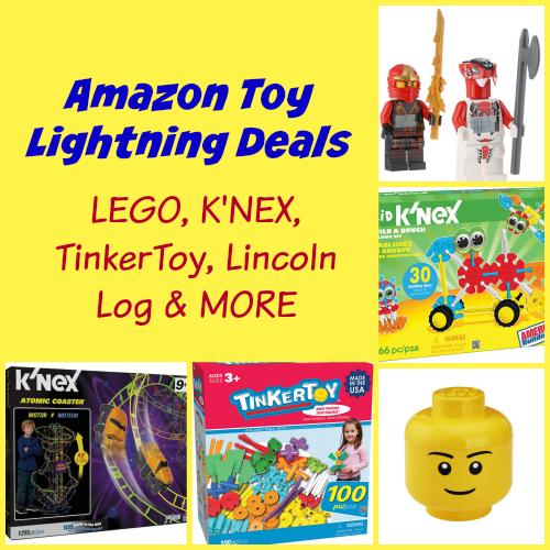 Amazon Toy Lightning Deals: LEGO, K'NEX, Tinkertoy and MORE