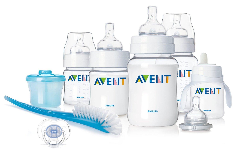 5-Bottle BPA Free Avent Infant Starter Set only $19.99!