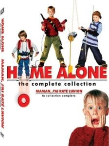 Entire Home Alone Collection on DVD only $8!