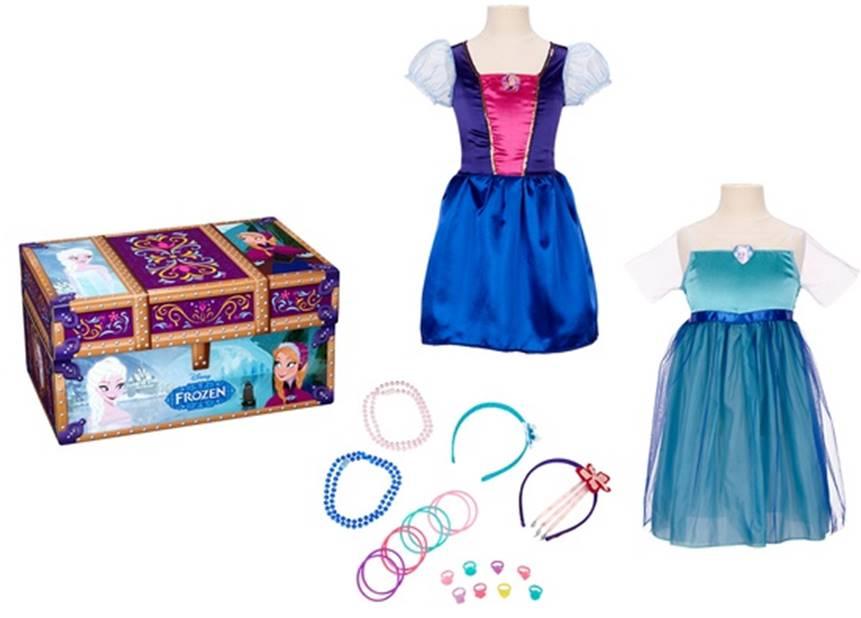 7c54216d89cb Disney's Frozen Anna and Elsa Dress Up Trunk only $16.74 ...