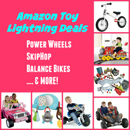 Amazon Toy Lightning Deals: Power Wheels, Balance Bikes, SkipHop + MORE