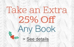 Amazon Book Coupon: Extra 25% Off Any Hardcover or Paperback Book!