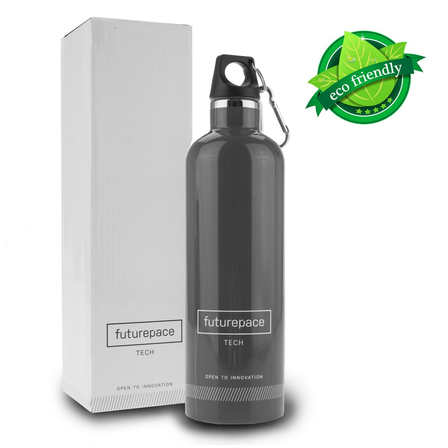 Holiday Gift Guide: FUTUREPACE Stainless Steel Insulated Water Bottle + Reader Giveaway