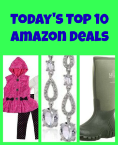 Top 10 Amazon Deals for Today